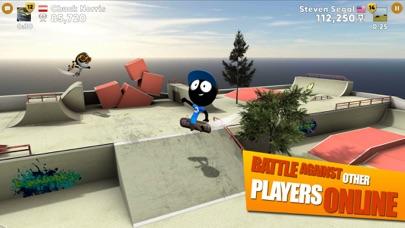 Screenshot #6 for Stickman Skate Battle