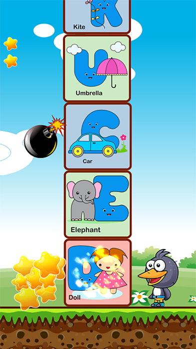 First box abc learning games screenshot two