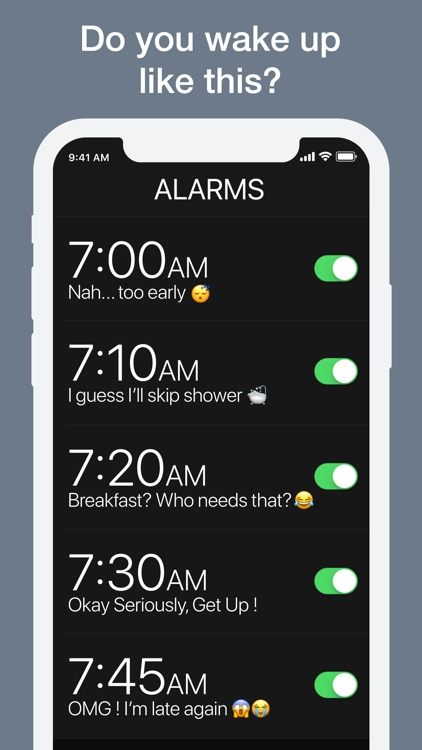 Kiwake - Extreme Alarm Clock screenshot-0