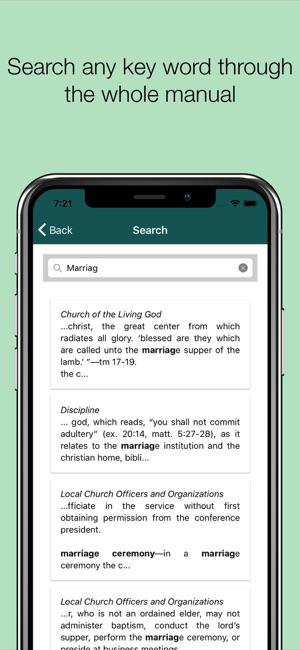 sda church manual on the app store rh itunes apple com 2013 SDA Church Manual PDF SDA Church Logo