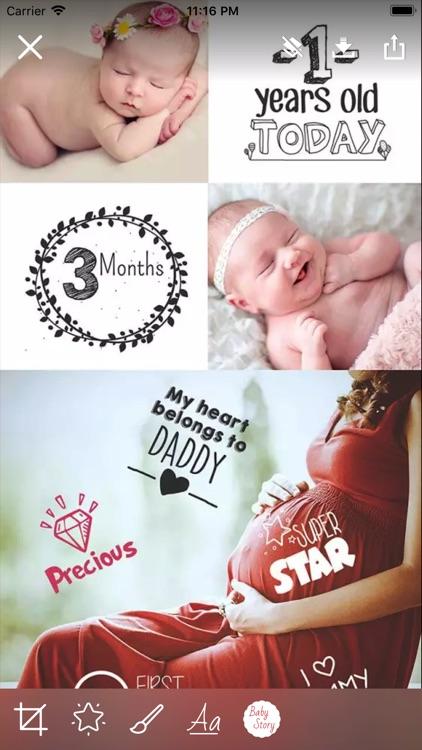 Baby Story Camera screenshot-3
