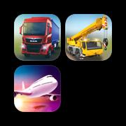 Truck Construction Flight - Simulator Bundle