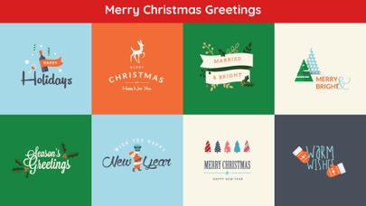 Merry Christmas Cards Greeting