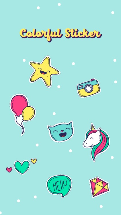 Colorful Stickers Pack