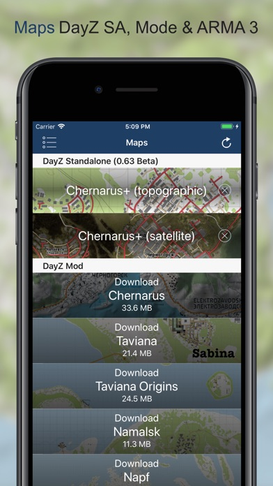 iZurvive - DayZ Map - AppRecs