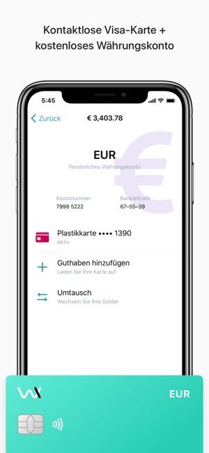 Wirex Karte.Wirex Bitcoin Wallet Karte Im App Store