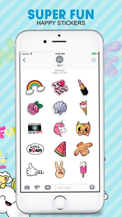Screenshot of Funny Sticker & Emojis App