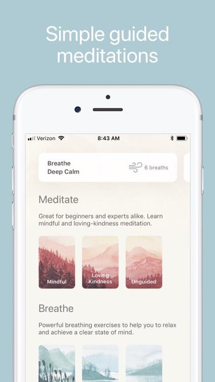 Oak - Meditation & Breathing screenshot-0
