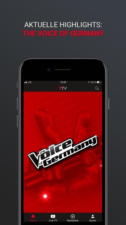 7TV - Mediathek, TV Livestream screenshot-8