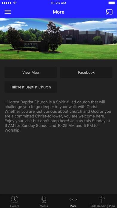 Hillcrest Baptist Byram, MS screenshot 3