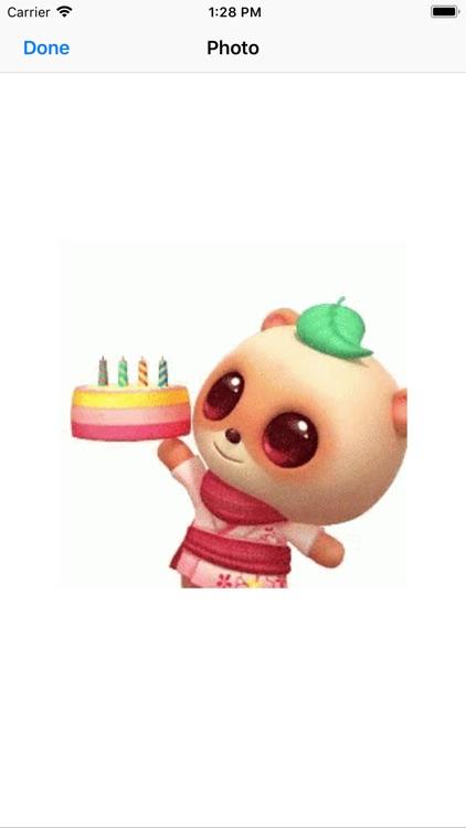 birthday animated stickers screenshot-5