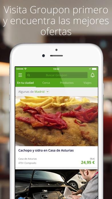 Screenshot for Groupon in Spain App Store