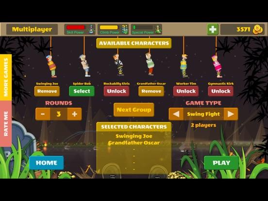 Rope Heroes : Hole Runner Game screenshot 7