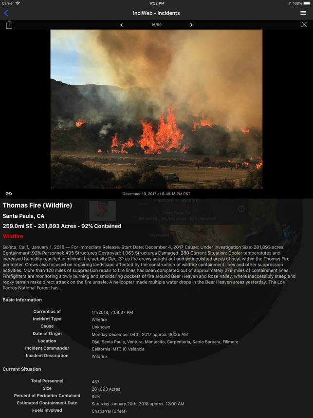 Fires - Wildfire Maps and Info on the App Store