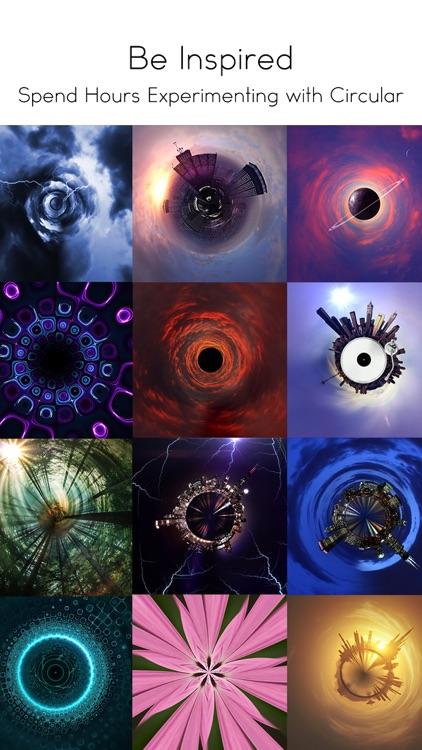 Circular Tiny Planet Editor screenshot-4