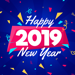 2019 New Year - Stickers