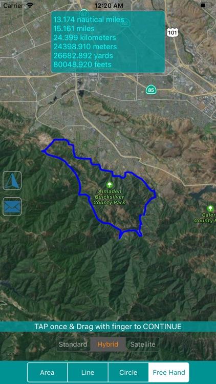 Map Geo-Measure Tool screenshot-3