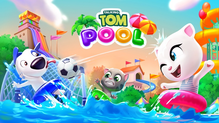 Talking Tom Pool - Puzzle Game screenshot-7