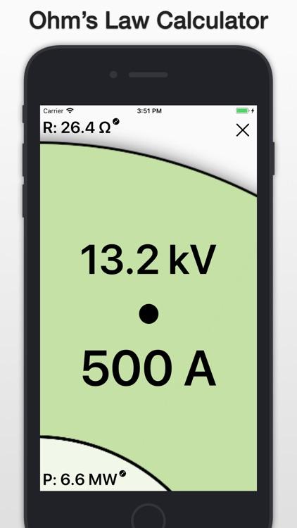PIER: Ohm's Law Calculator screenshot-0