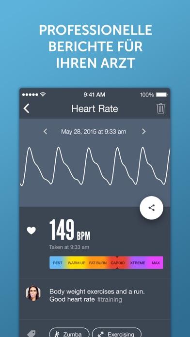 Screenshot for Instant Herzfrequenz+ in Austria App Store