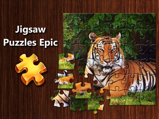 Jigsaw Puzzles Epic на iPad