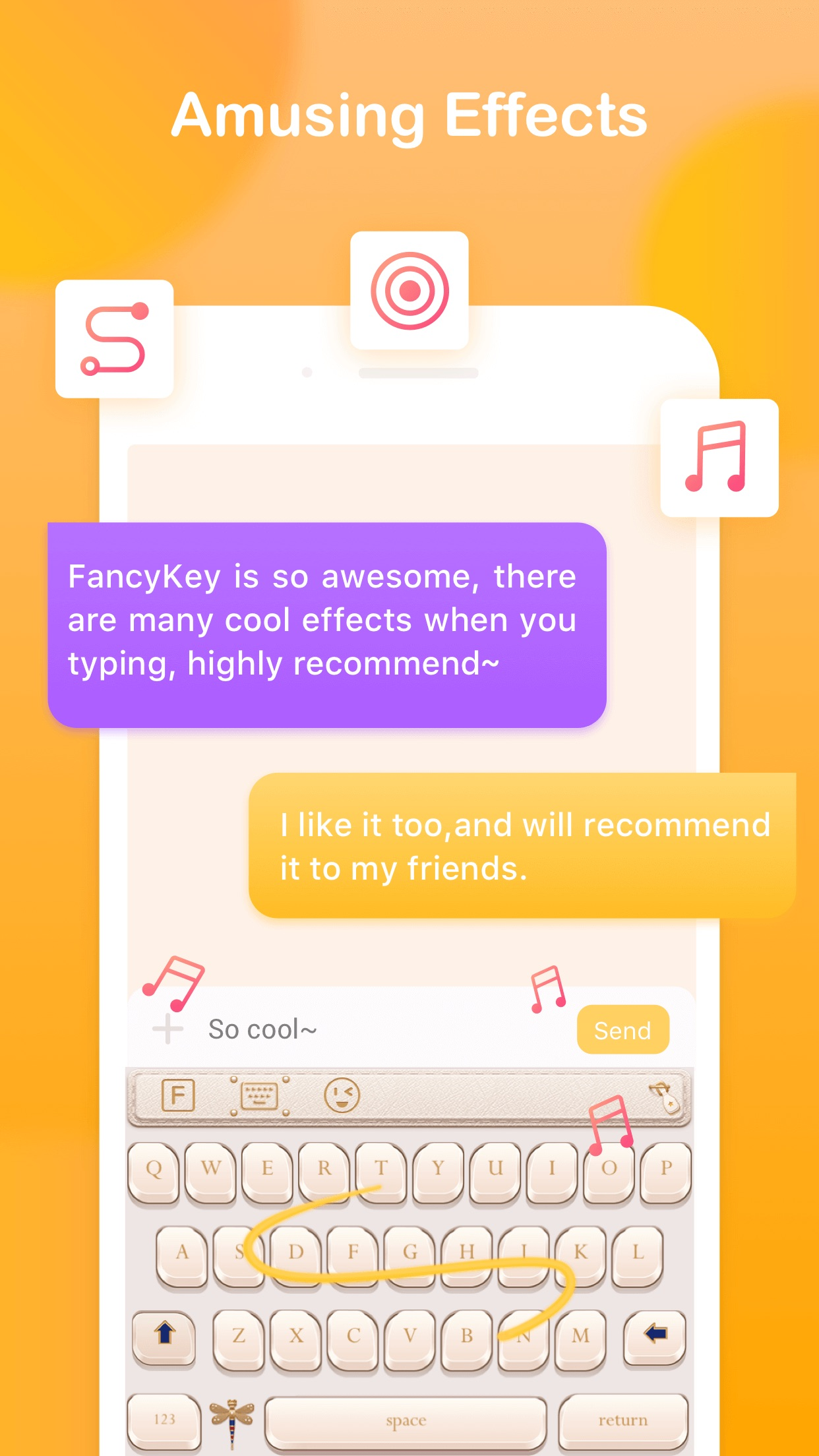FancyKey - Keyboard Themes Screenshot