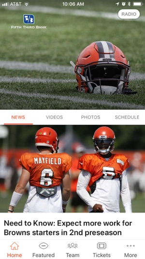 0f666e42d8c Cleveland Browns on the App Store