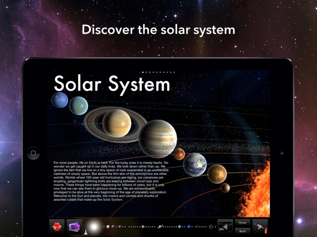 ‎Solar System for iPad