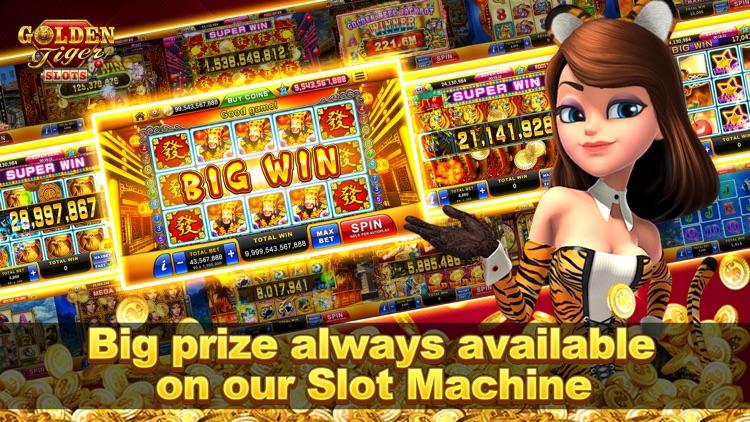 Golden Tiger Slots: Slot Games screenshot-3