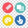 水玉アート - iPhoneアプリ