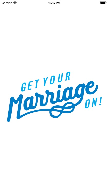 Get Your Marriage On!