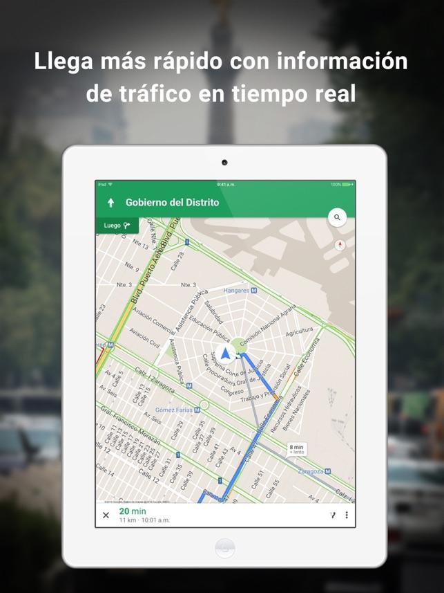 Google Maps en App Store