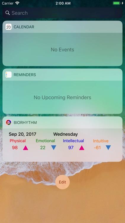 BiorhythmΩ screenshot-4