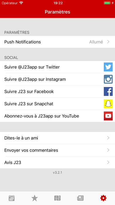 download J23 - Dates de Sortie apps 4