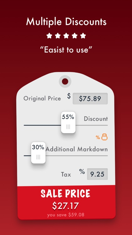 Sale Price Discount Calculator screenshot-2