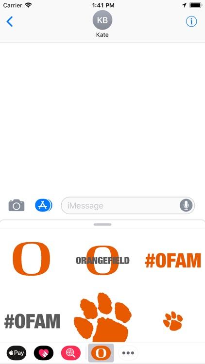 #OFAM Stickers