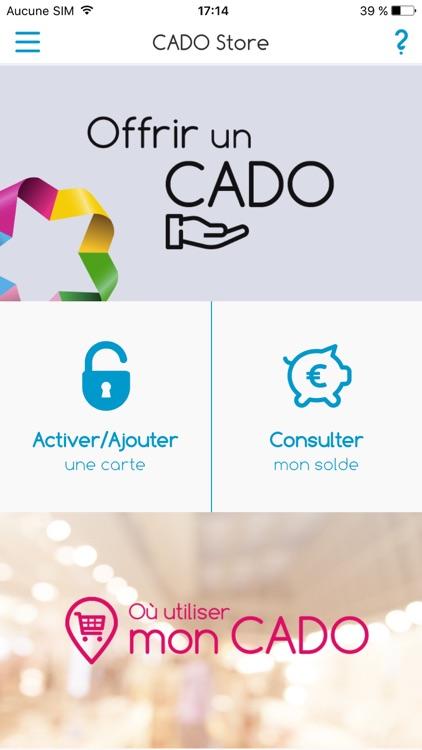 Www.cadostore.com Activation Carte | Carte