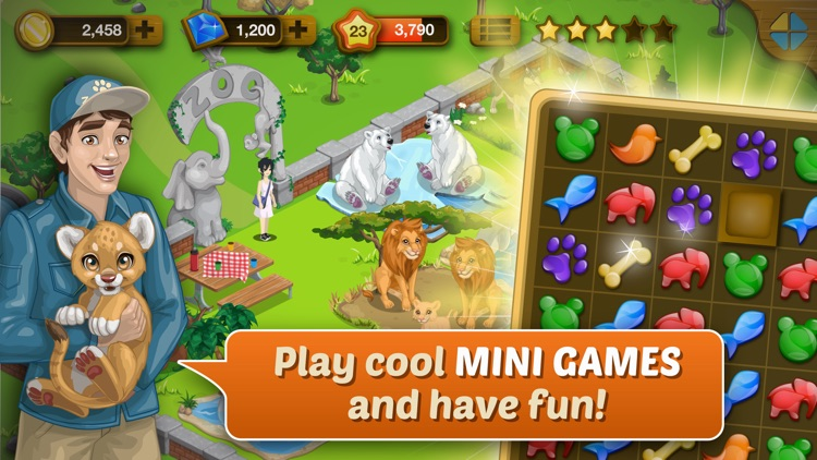 Happy Zoo - Wild Animals screenshot-3