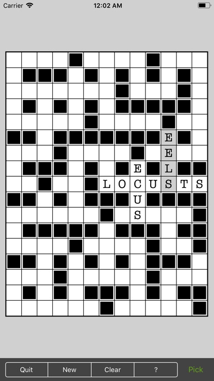 Word Fill - Fill in puzzles
