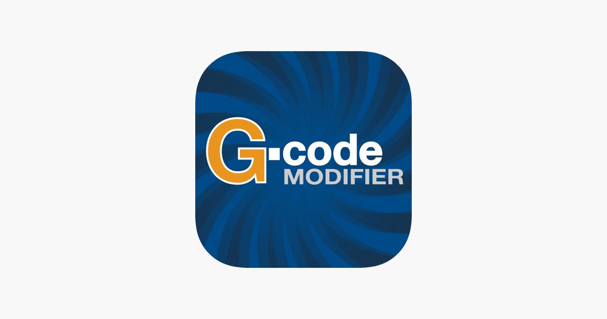 G Code Modifer On The App Store
