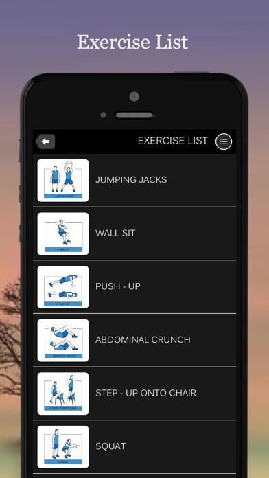 点击获取7 Minute Workout Fitness App