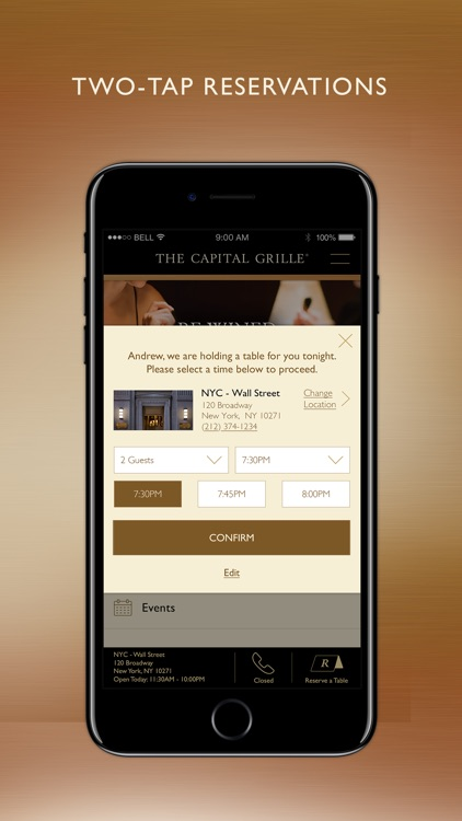 The Capital Grille Concierge screenshot-1