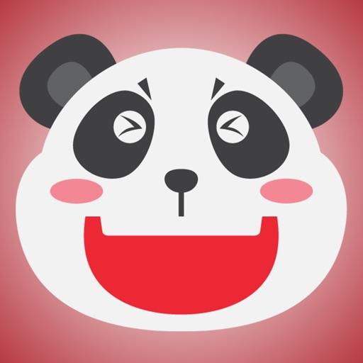 Super Cute Panda - Emoji Style