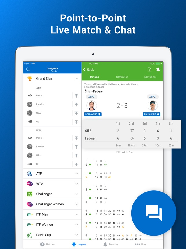 SofaScore Live Sports Results Screenshot