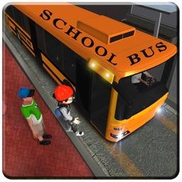 School Bus Driving sim-ulator