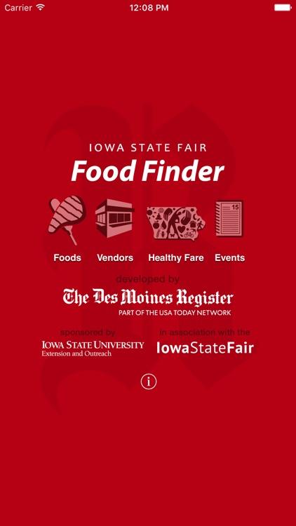 Iowa State Fair Food Finder