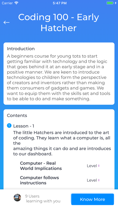 Screenshot for Hatch School of Code - Student in South Africa App Store