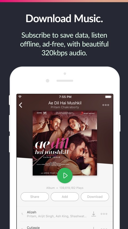 Saavn Music & Radio screenshot-4