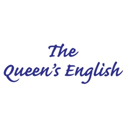 The Queens English Stickers