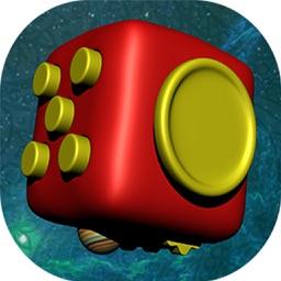 Fidget Cube Spinner 3D